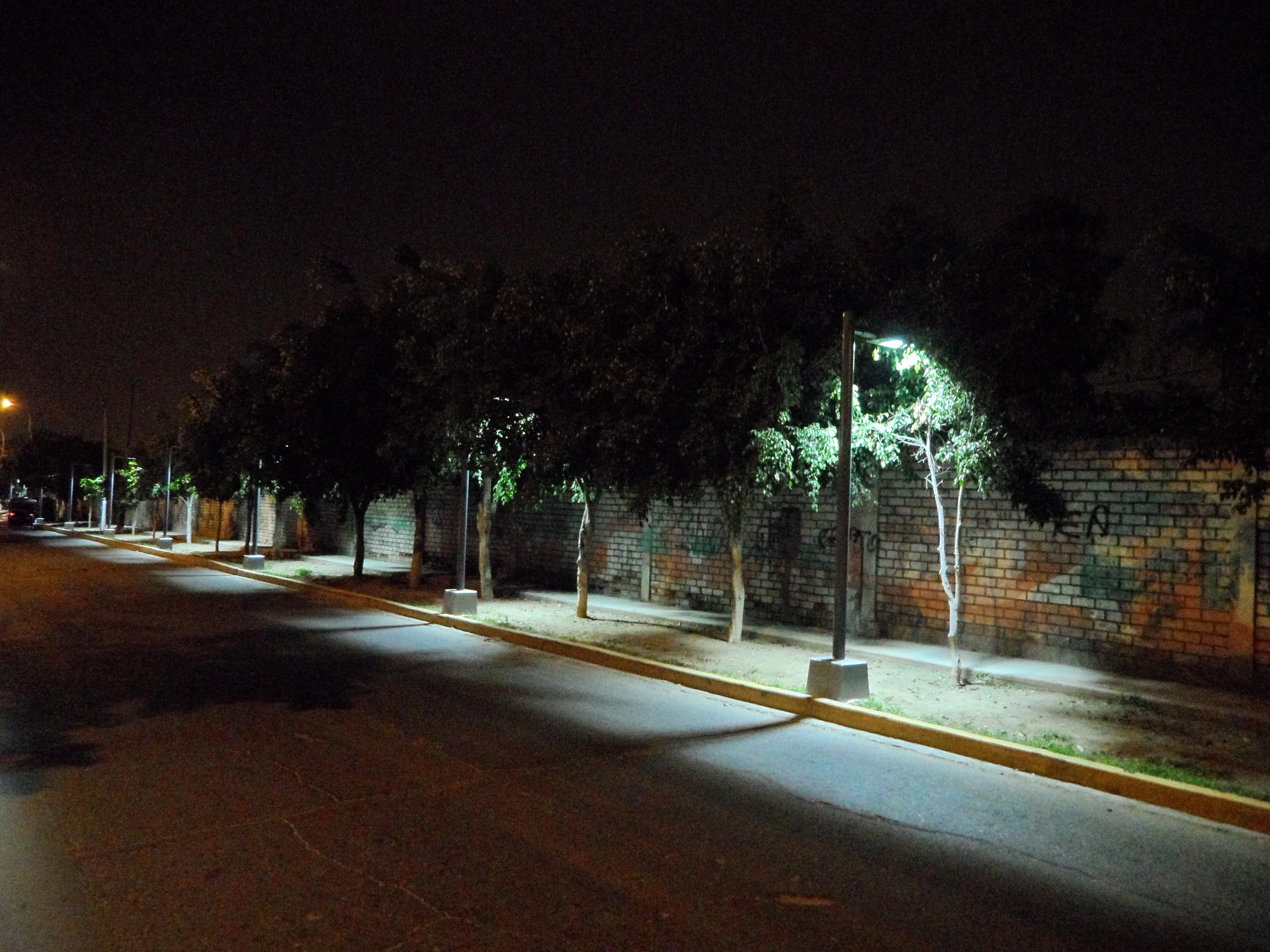 un parque led en la molina iluminaci n profesional led